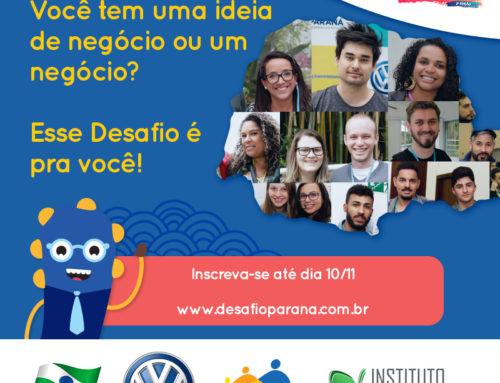 Geração Empreendedora recebe inscrições para Desafio Paraná até 10 de novembro