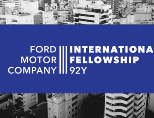 Fellowship Ford Motor Company abre inscrições para líderes da sociedade civil