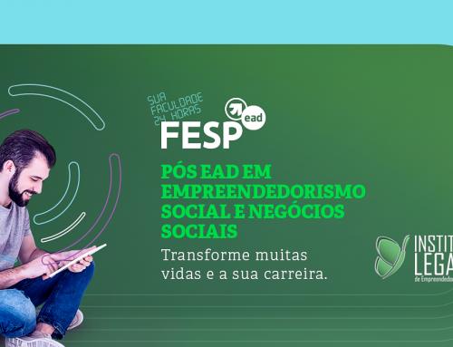 Instituto Legado firma parceria com FESP e lança Pós EAD