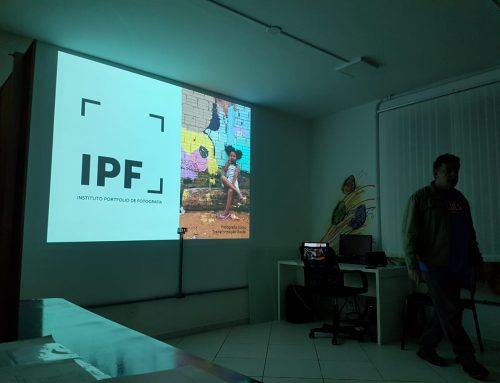 Instituto Portfólio realiza palestra sobre fotografia como transformação social