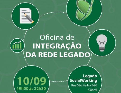 Participe da oficina de integração da Rede Legado