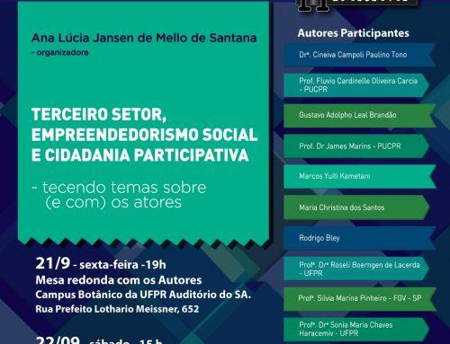 Empreendedorismo Social é tema de livro com lançamento marcado para esta sexta-feira