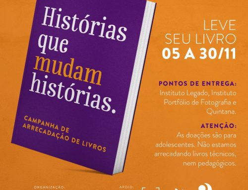 Campanha promovida pelo Instituto Aurora vai arrecadar livros literários