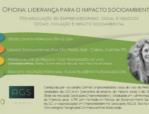 Instituto Legado abre inscrições para oficina de liderança com foco em impacto social