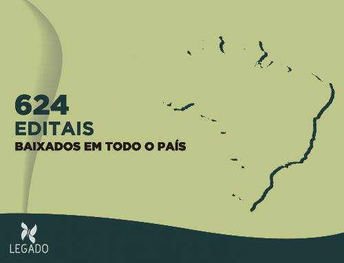 Período de inscrição do Projeto Legado termina com editais baixados em todo o Brasil
