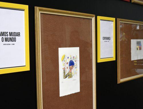 Exposição dá voz a crianças e adolescentes da Casa do Piá