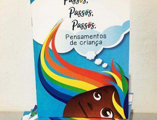 Passos da Criança lançará livro com textos produzidos por crianças e jovens da Vila Torres
