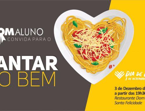Programa Bom Aluno Curitiba convida para o Jantar do Bem, evento faz parte do movimento do Dia de Doar