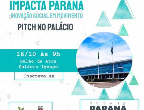 Aberto ao público, Impacta Paraná vai reunir o setor de empreendedorismo social no Palácio do Iguaçu