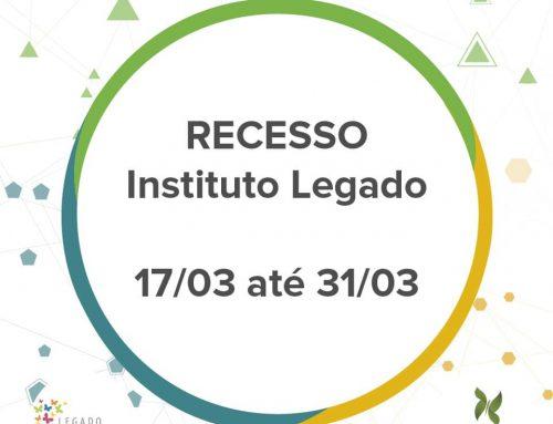 Instituto Legado entra para movimento de prevenção à Covid-19