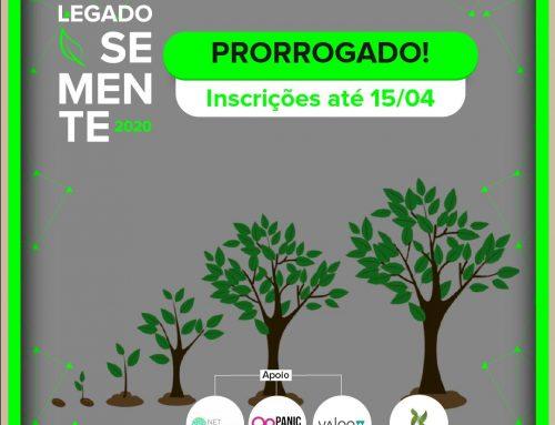 Legado Semente: inscrições prorrogadas para programa de aceleração de startups